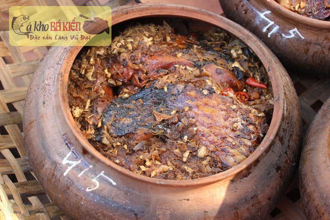 Cá kho Bá Kiến đã chinh phục tất cả người ẩm thực bằng sự thơm ngon của món ăn