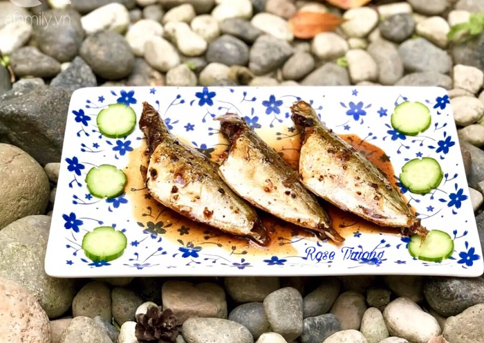 Mùi thơm của tiêu, gừng hòa quyện với vị ngọt của cá